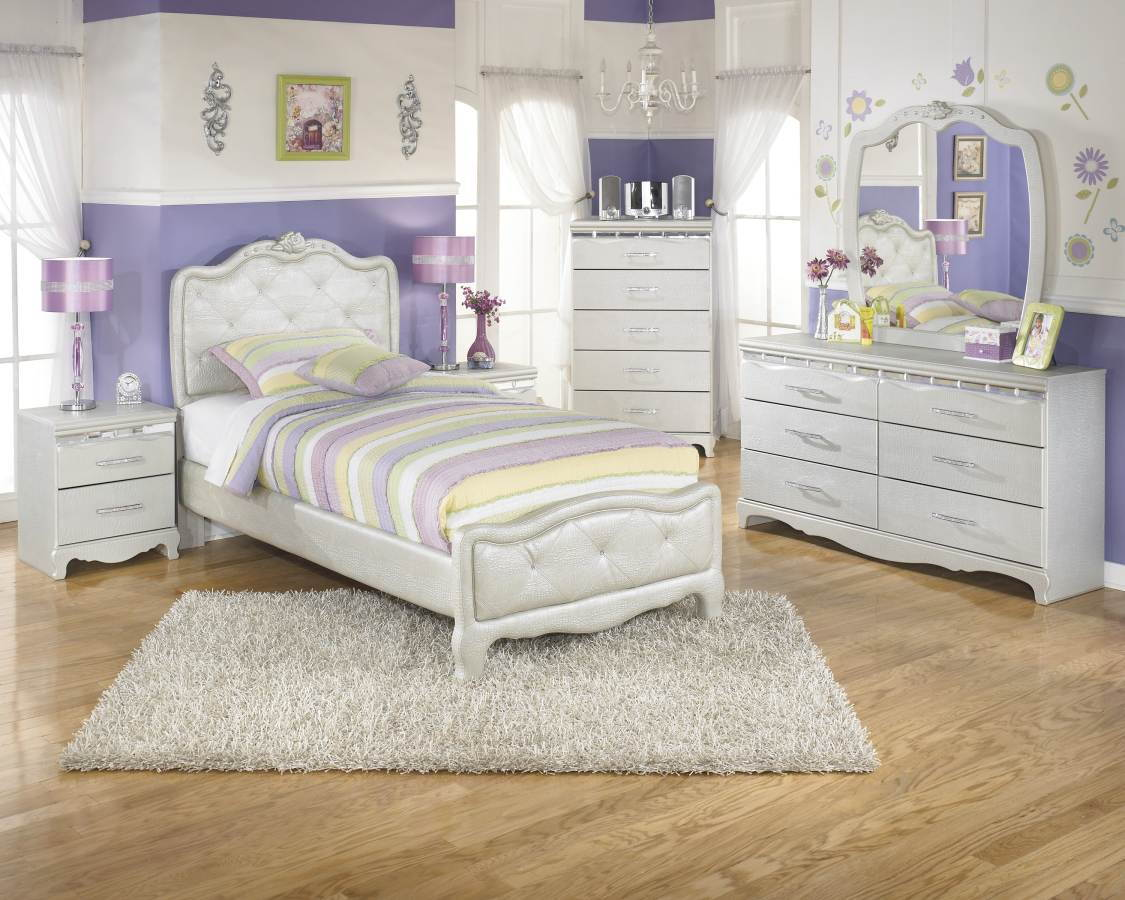 silver wood bedroom sets photo - 5