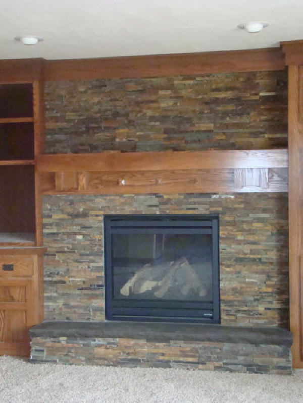 slate tile for a fireplace interior exterior doors
