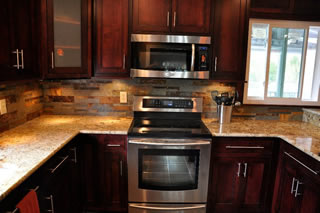 slate tile for kitchen countertops photo - 2