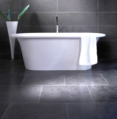 slate tiles for bathroom floor photo - 4