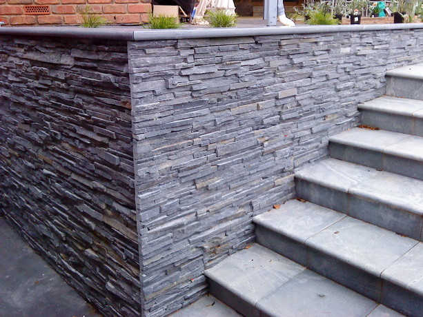 slate tiles for exterior walls photo - 5