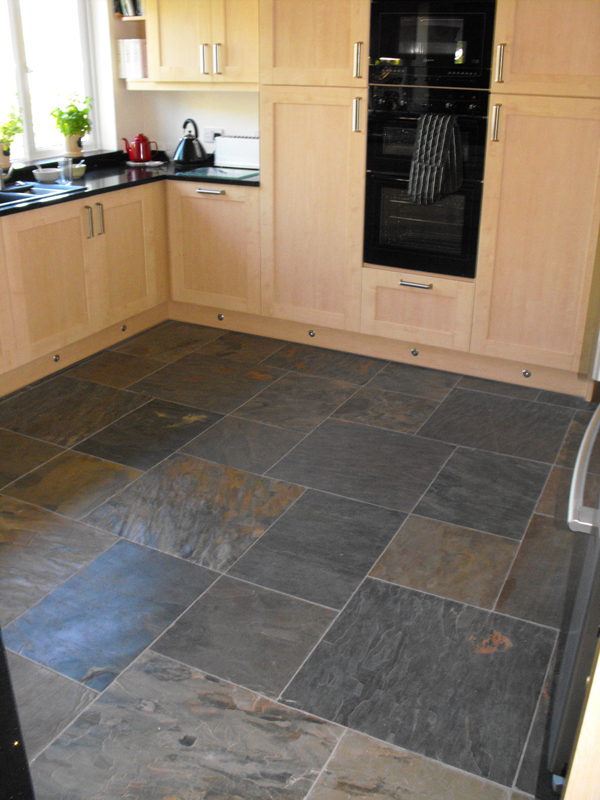 slate tiles for kitchen photo - 2