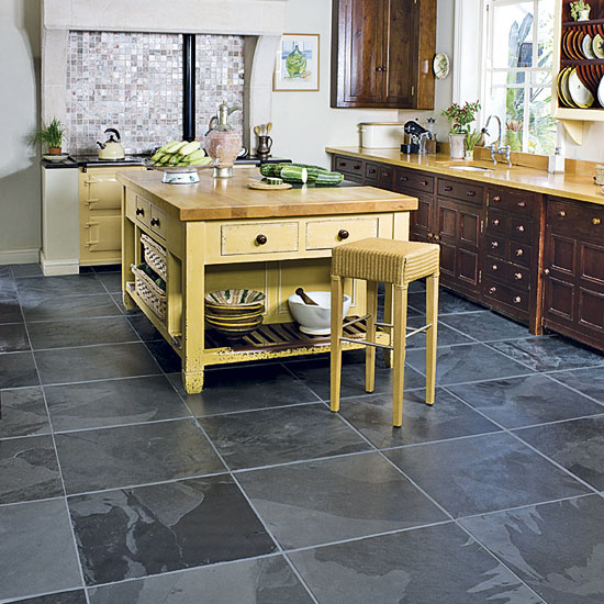 slate tiles for kitchen photo - 6