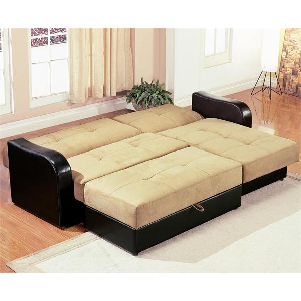 sleeper sofa chaise photo - 6