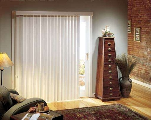 sliding glass door blinds ideas photo - 4