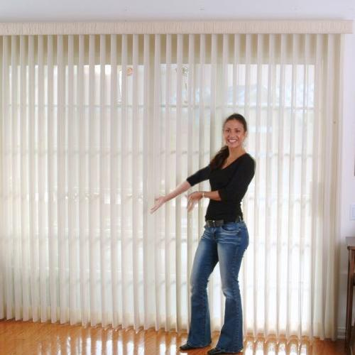 sliding glass door blinds ideas photo - 5