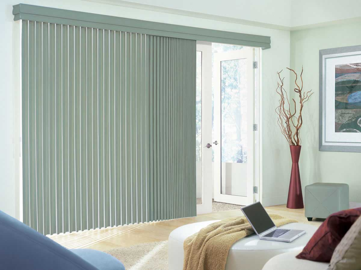sliding glass door blinds ideas photo - 6
