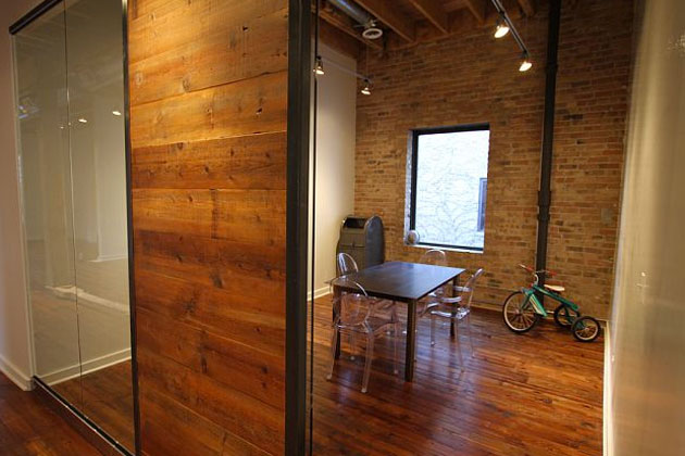 sliding loft doors interior photo - 6