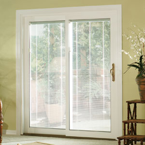 Attractive Sliding Patio Door Blinds Ideas Photo   4