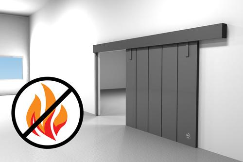 sliding pocket doors fire rated photo - 6