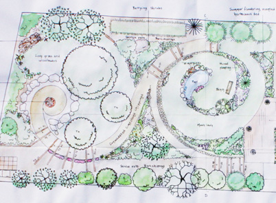 sloped garden plans photo - 6