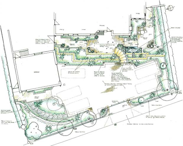 Landscape Design Drawing Cost