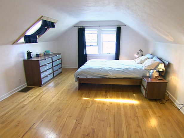small attic bedroom design ideas photo - 1