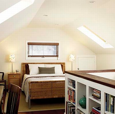 small attic bedroom design ideas photo - 3