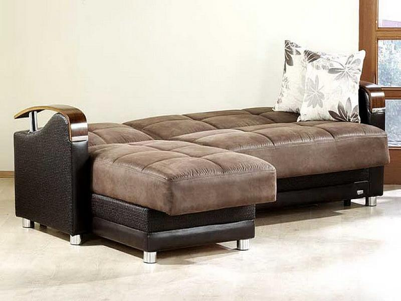 small sectional sofa bed photo - 2