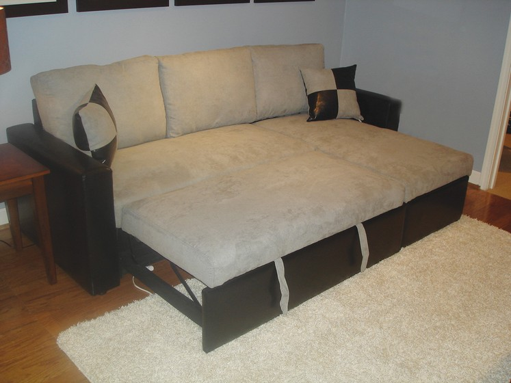 small sectional sofa bed photo - 3