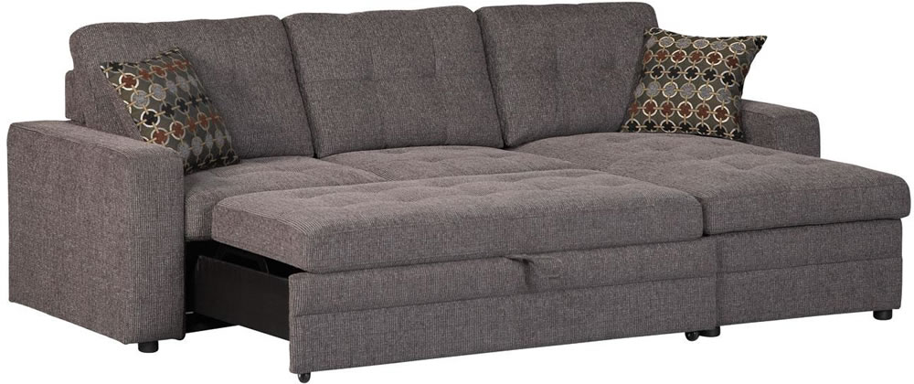 small sectional sofa bed photo - 4