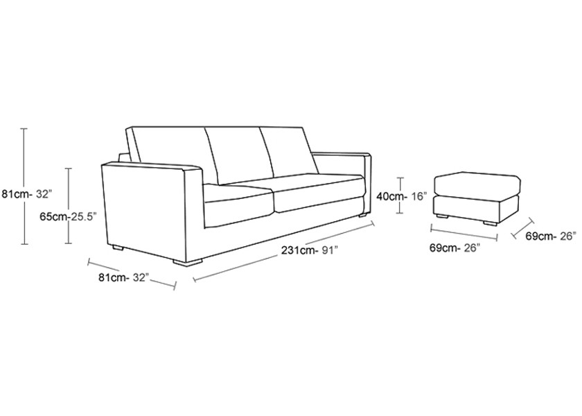 Small Sectional Sofa Dimensions Interior Exterior Doors