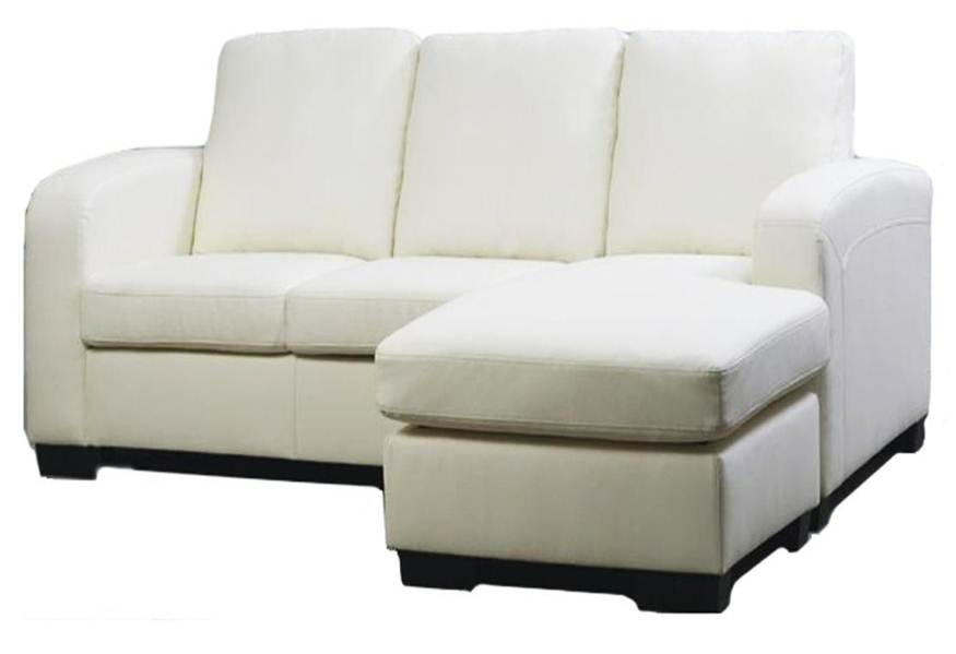 small sectional sofa leather photo - 1