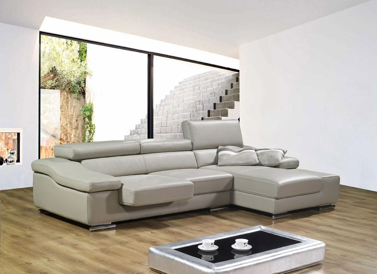 small sectional sofa leather photo - 3