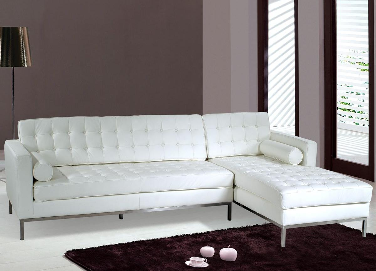 small sectional sofa leather photo - 6