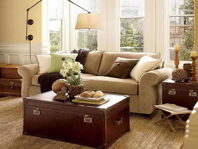 small sectional sofa pottery barn photo - 4