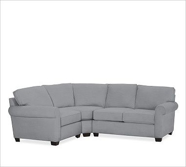 small sectional sofa pottery barn photo - 6