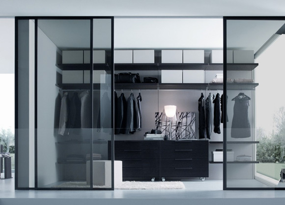 small walk in closet design layout photo - 6