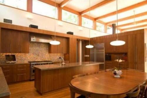 small zen kitchen design photo - 2