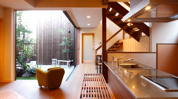 small zen kitchen design photo - 4