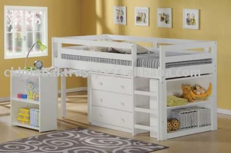 solid wood bedroom furniture for kids photo - 2