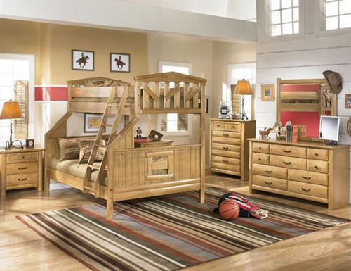 solid wood bedroom furniture for kids photo - 5