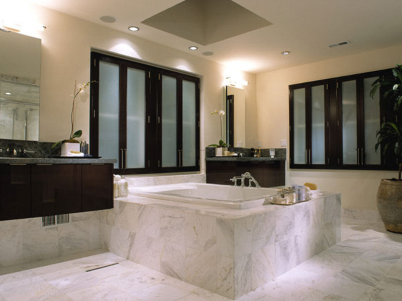 spa bathroom color ideas photo - 2