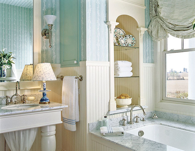 spa bathroom color ideas photo - 4