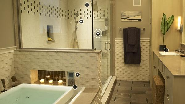 spa bathroom color ideas photo - 6