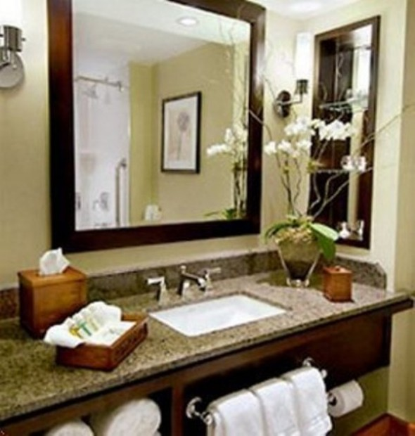 spa bathroom decor photo - 1