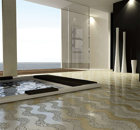 spa bathroom floors photo - 3