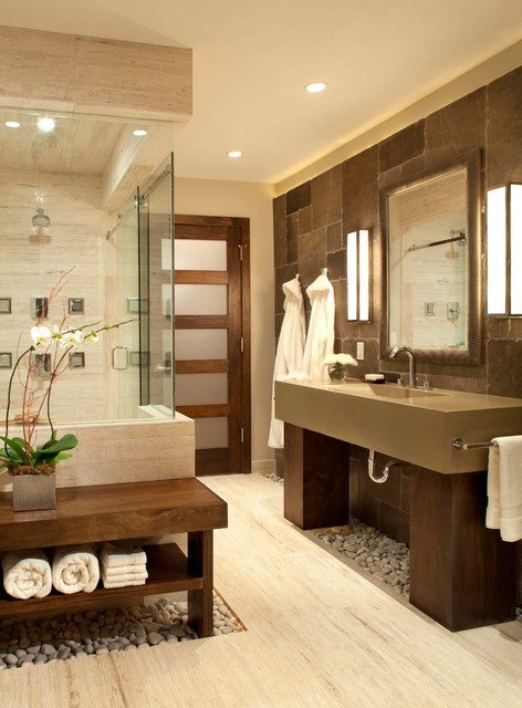 spa bathroom houzz photo - 1