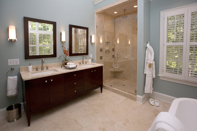 spa bathroom houzz photo - 5