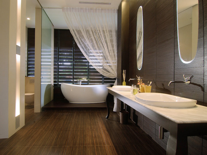 spa bathroom ideas photo - 1
