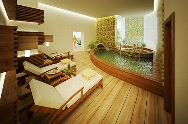spa bathroom ideas photo - 2