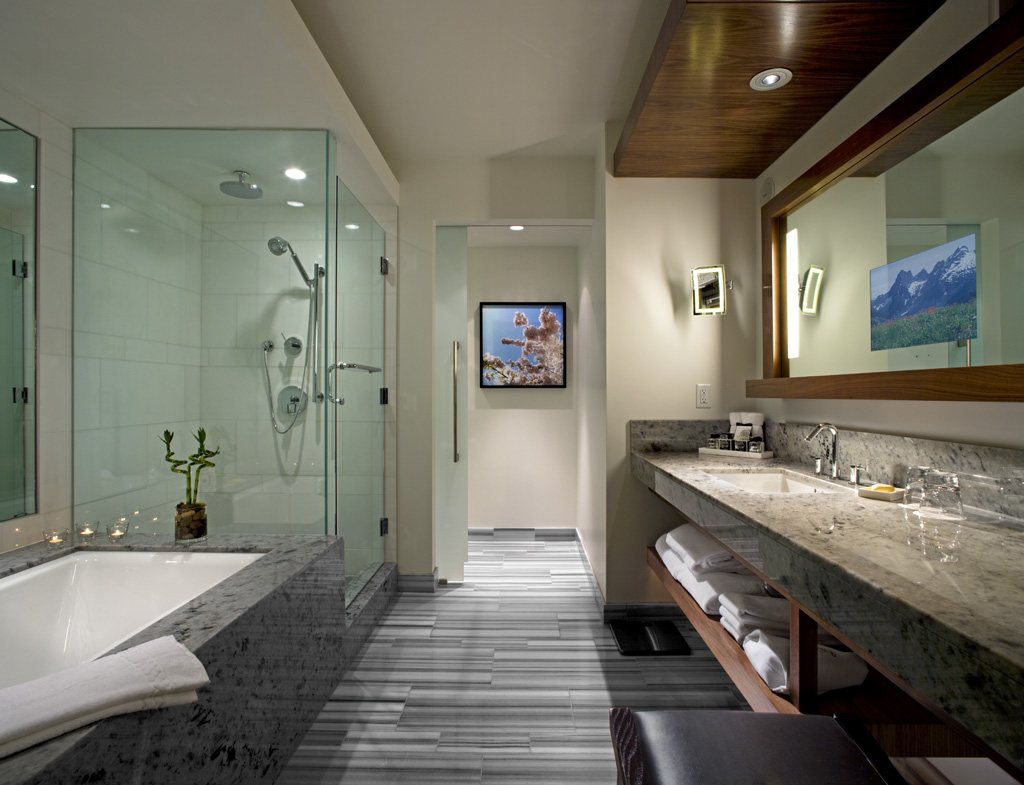 spa bathroom inspiration photo - 4
