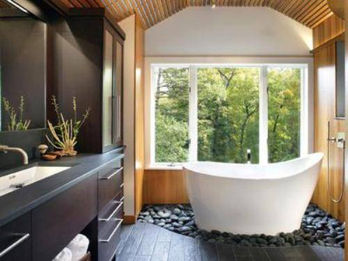 Stunning Home Spa Room Design Ideas Images Amazing House . Indoor ...