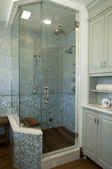 spa bathroom shower ideas photo - 5