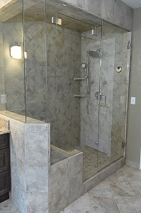 spa bathroom shower ideas photo - 6