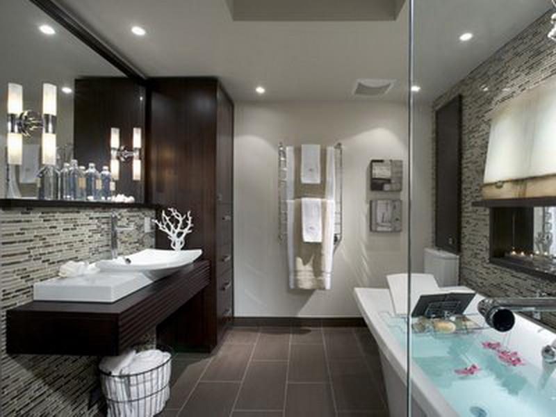 spa bathroom tile ideas photo - 1