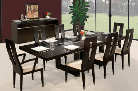 square dining table contemporary photo - 3