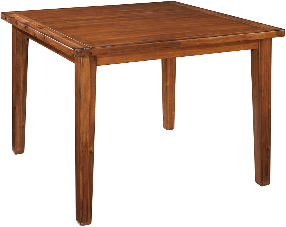 square dining table counter height photo - 1