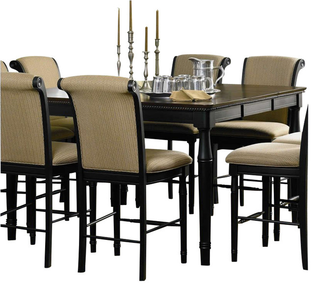 square dining table counter height photo - 2