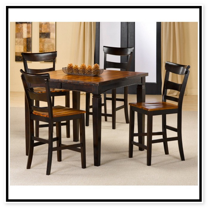 Exceptional Square Kitchen Table For 4 Part - 5: Square Dining Table For 4 Photo - 6